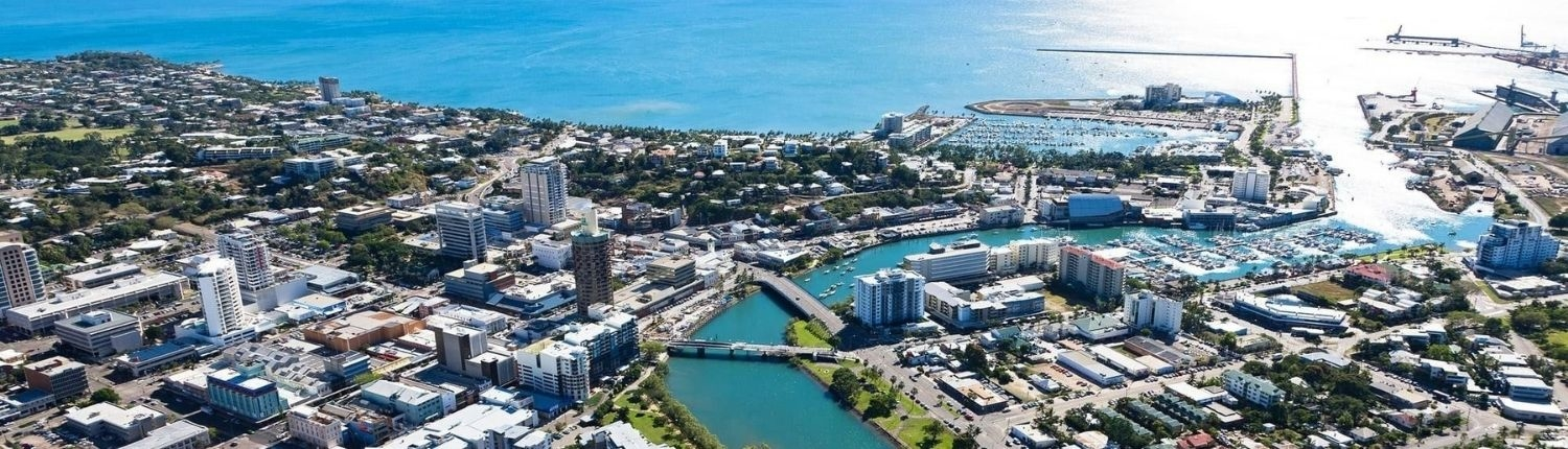 Townsville aerial view